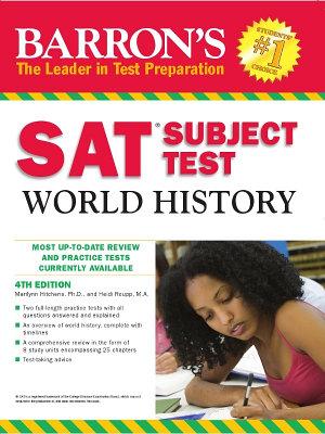 SAT  Subject Test World History  4th Edition