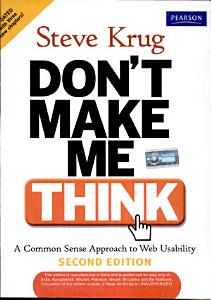 Don t Make Me Think  Book