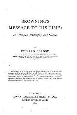 Browning s Message to His Time