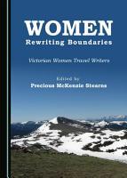 Women Rewriting Boundaries PDF