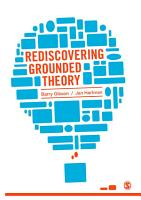 Rediscovering Grounded Theory PDF