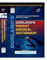 Dorland's Pocket Medical Dictionary, 29/e