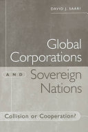 Global Corporations and Sovereign Nations