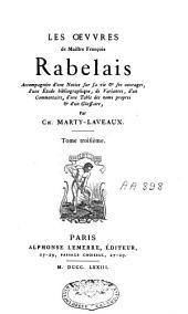 Les oeuvres de Maistre François Rabelais: Volume3
