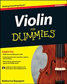 Violin For Dummies  2nd Edition PDF