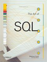 The Art of SQL PDF