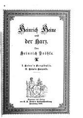 Heinrich Heine und der Harz