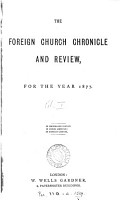 The Foreign church chronicle and review PDF