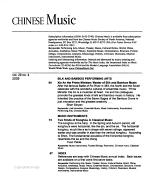 Chinese Music PDF
