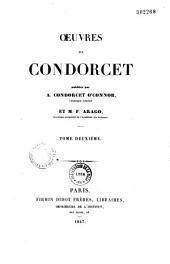 Oeuvres de Condorcet: Volume2