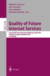 Quality of Future Internet Services: Second COST 263 International Workshop, Qofis 2001, Coimbra, Portugal, September 24-26, 2001. Proceedings