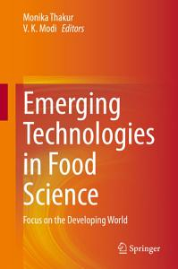 Emerging Technologies in Food Science