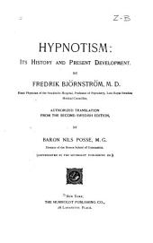 Hypnotism: Its History and Present Development