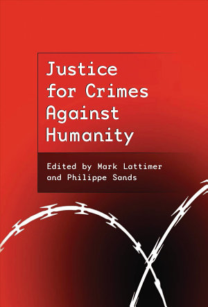 Justice for Crimes Against Humanity PDF