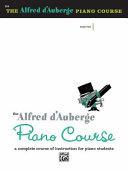 Alfred D'Auberge Piano Course Lesson Book