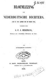 Bloemlezing uit Nederduitsche dichters: van H. Van Alphen tot op onzen tijd