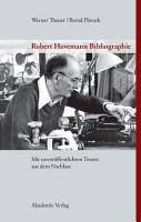 Robert Havemann Bibliographie PDF