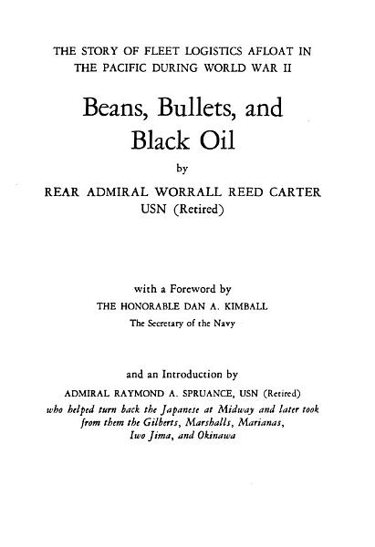 Download Beans  Bullets  and Black Oil Book