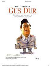 BIOGRAFI GUS DUR: The Authorized Biography of Abdurrahman Wahid