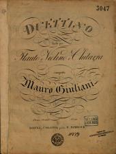 Duettino facile per flauto o violino e chitarra: op. 77