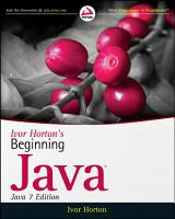 Ivor Horton s Beginning Java PDF