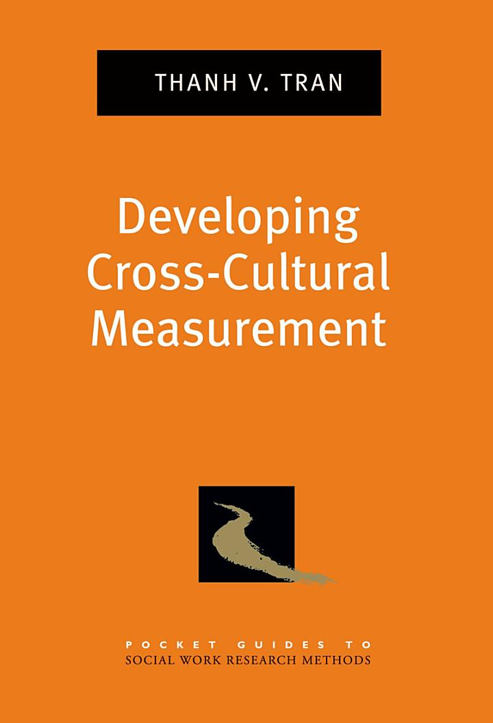 Pocket Guide to Developing Cross-Cultural Measurement in Social Work Research and Evaluation