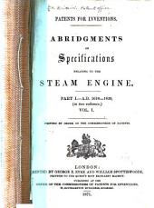 Patents for Inventions: A.D. 1618-1859