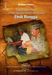 Tradisi Lisan Vera: Jendela Bahasa, Sastra, dan Budaya Etnik Rongga