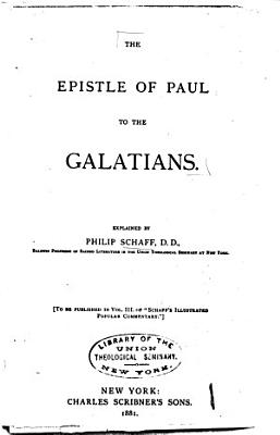 The Epistle of Paul to the Galatians PDF