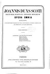 Opera omnia: Volume 2
