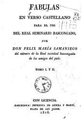 Fábulas en verso castellano: para el uso del Real Seminario Bascongado [sic]