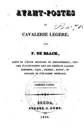 Avant-postes de cavalerie légère: souvenirs