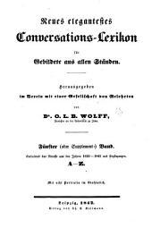 Neues elegantestes conversations-lexikon für gebildete aus allen ständen: Band 5