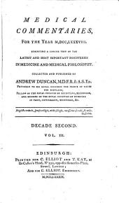 Medical and Philosophical Commentaries: Volume 13
