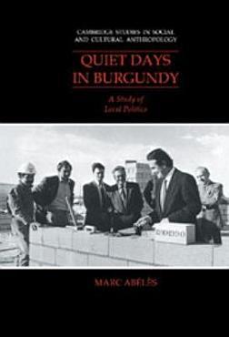 Quiet Days in Burgundy PDF