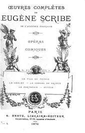 Œuvres complètes de Eugène Scribe: Volumes53à54