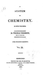 A System of Chemistry: Volume 3