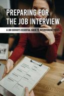 Preparing For The Job Interview PDF