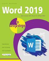 Word 2019 in Easy Steps PDF