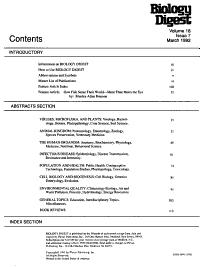 Biology Digest PDF