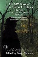 The MX Book of New Sherlock Holmes Stories Part XXVI
