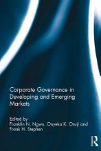 Corporate Governance in Developing and Emerging Markets PDF