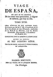 Trata de Cadiz, Malaga y otros pueblos de Andalucia: Volumen 18