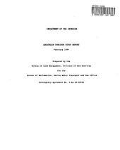 Aquatrain corridor study report