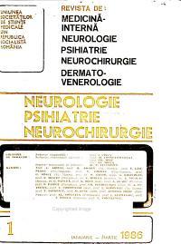 Revista de medicin   intern    neurologie  psihiatrie  neurochirurgie  dermato venerologie PDF