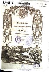 Diccionario geográfico-estadístico-historico de España y sus posesiones de ultramar: Volumen 15