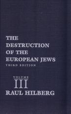 The Destruction of the European Jews PDF