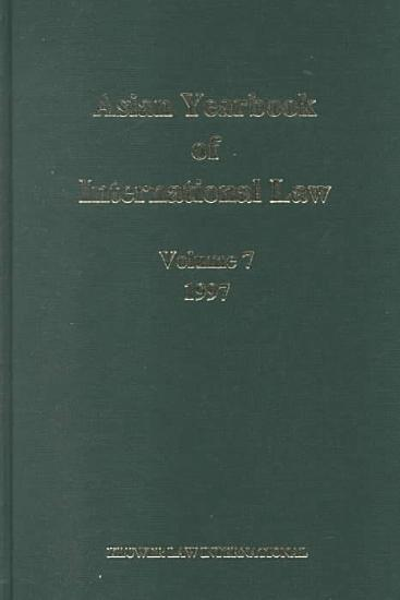 Asian Yearbook of International Law  1997 PDF