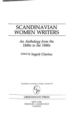 Scandinavian Women Writers