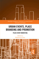 Urban Events  Place Branding and Promotion